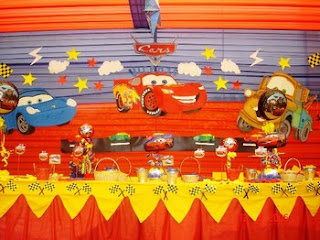 Children parties, cars decoration