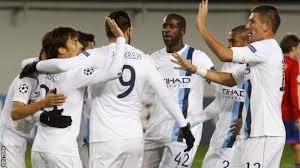 Match Manchester City 5 2 CSKA Moscou