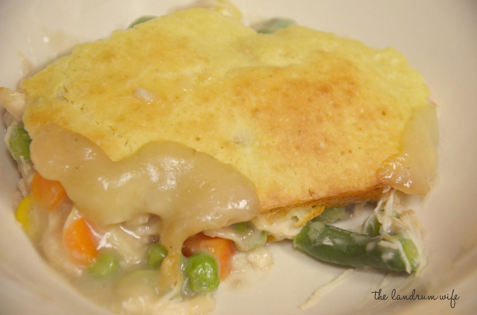 Easy Chicken Pot Pie via E.A. at Food.com