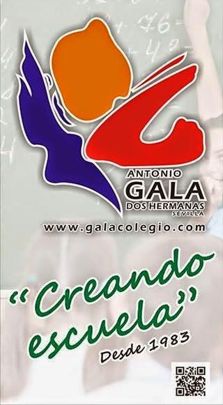 32 Años educando. Web del Colegio Antonio Gala