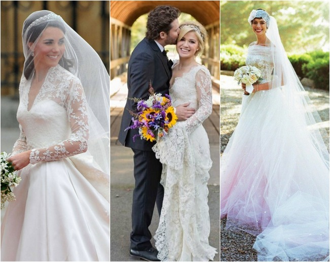 Marie A La Mode My Favorite Celeb Wedding Dresses