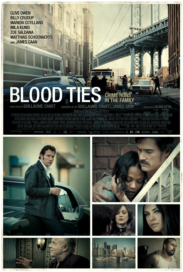 Lazos de sangre (Blood Ties) póster