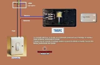 Como conectar timbre din don electrico