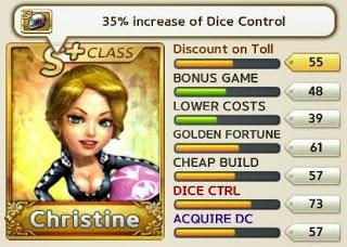 Trik Cara Mendapat Christine S+ LINE Let Get Rich lebih cepat