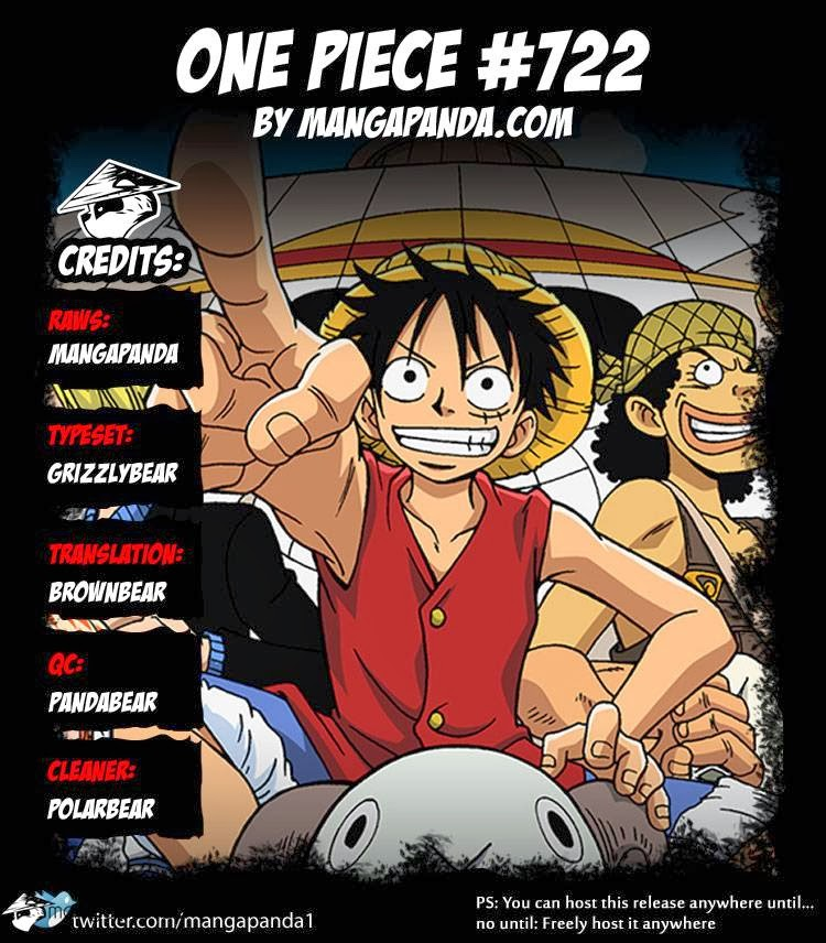 One Piece 722 - Page 1