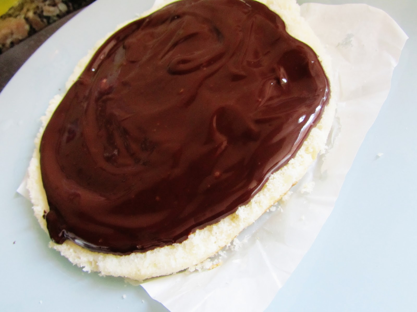 Chocolotes: Petit Larousse - Pão de Ló com Chocolate e
