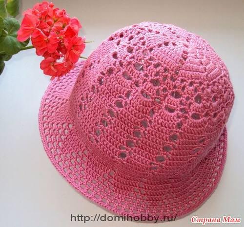 #660 Esquema de Gorro a Crochet