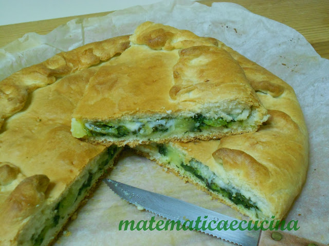 torta con broccoli e patate