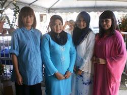Di Rumah Ipoh, Farra, Zura, Erika And Lina