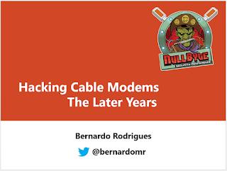 ARRIS Cable Modem has a Backdoor in the Backdoor