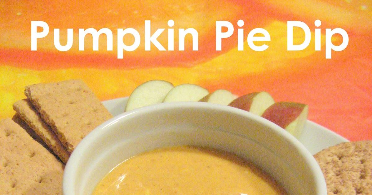 The Baking Bookworm: Pumpkin Pie Dip