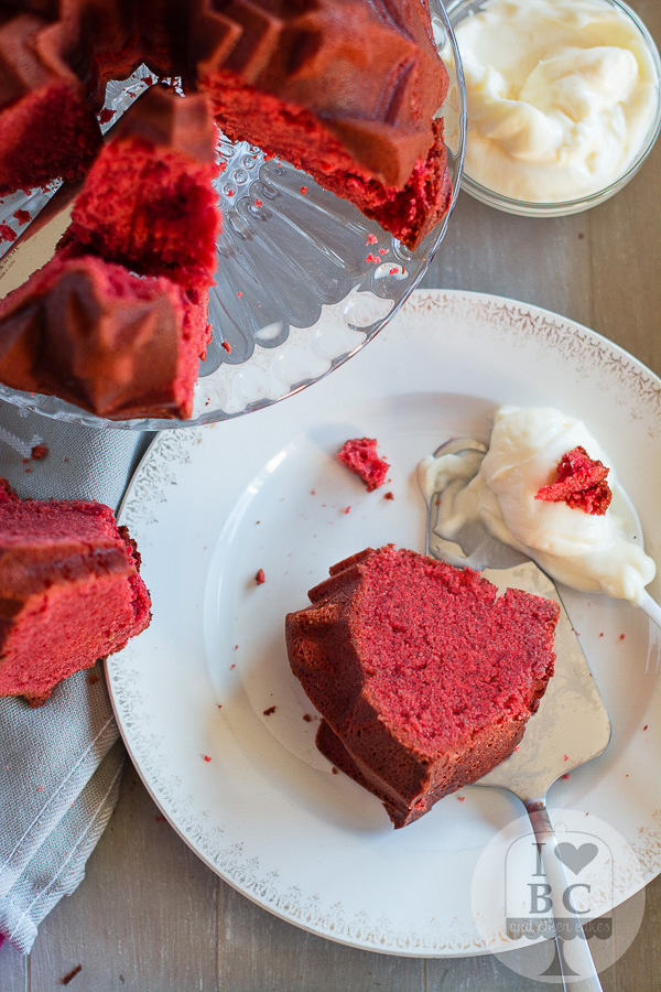 Red Velvet Bundt Cake (Kiss My Bundt Bakery)