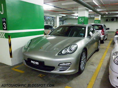 Silver Bullet Porsche Panamera