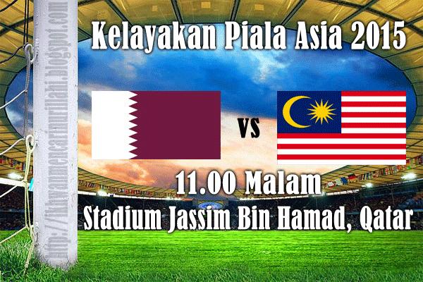 Keputusan Malaysia vs Qatar 6 Februari 2013 - Kelayakan Piala Asia 2015
