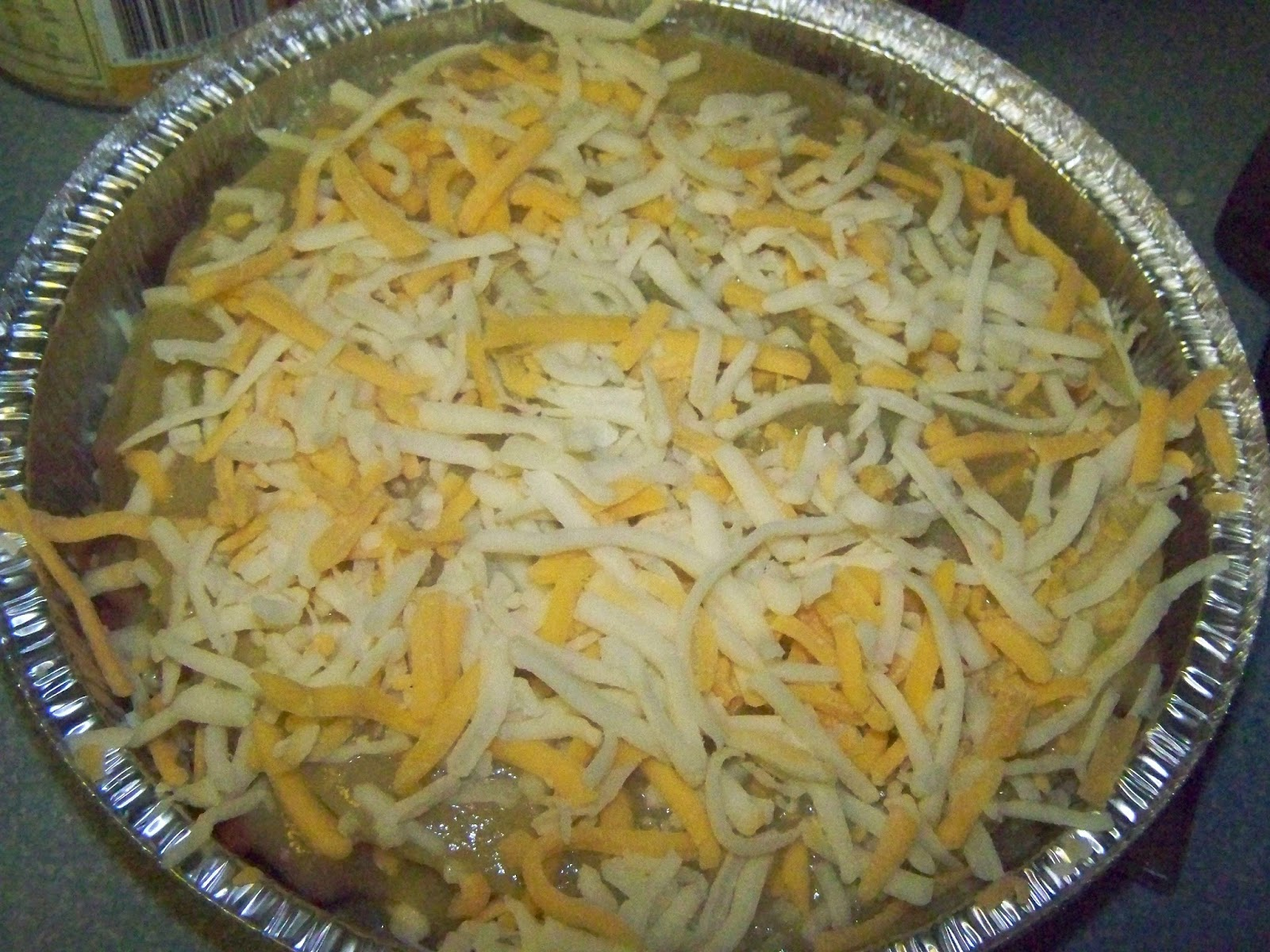 to Z for Moms Like Me: Chicken Burrito Pie Recipe