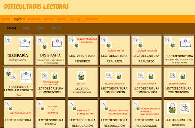 BLOG DE DIFICULTADES LECTORAS