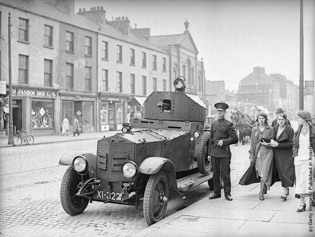 Car Park Near Central Station Belfast