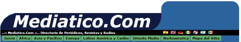Directorio de periódicos, revistas y radio.