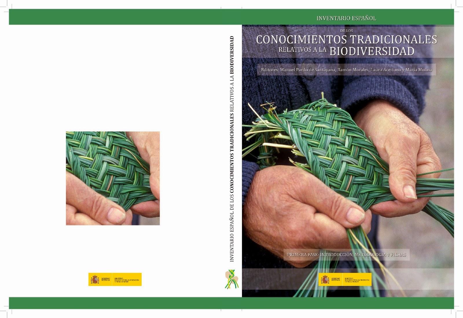 """""""Inventario español de los conocimientos tradicionales relativos a la biodiversidad""""."""