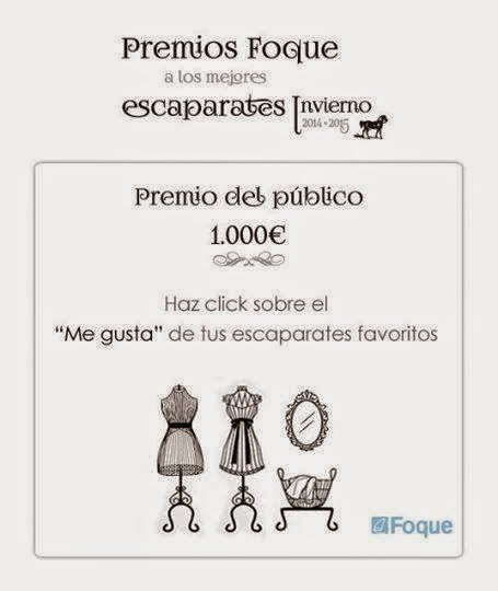 CONCURSO DE ESCAPARATES FOQUE