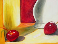 Painting of Cherries by Maria Palma