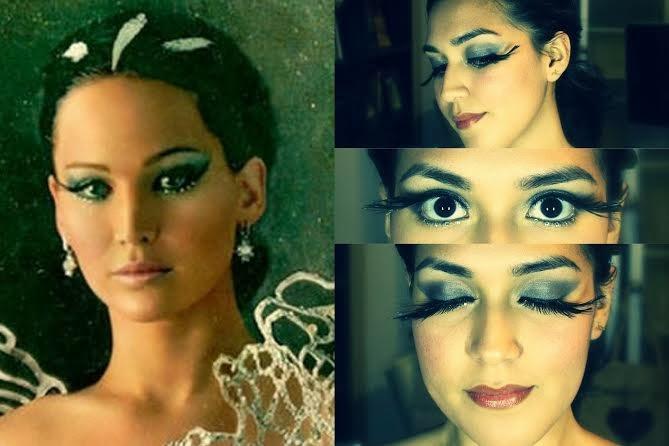Covergirl Katniss Everdeen Catching Fire Inspired Makeup