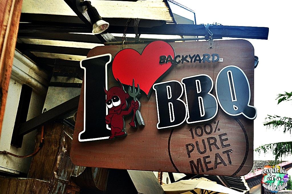 Backyard Love lafanggero: boracay: i ♥ backyard bbq