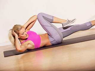 The Best Abdominal Exercises for Women (Bicycle Crunches)
