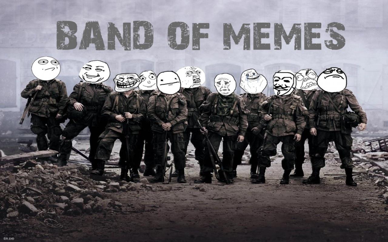 BAND OF MEMES TROLL