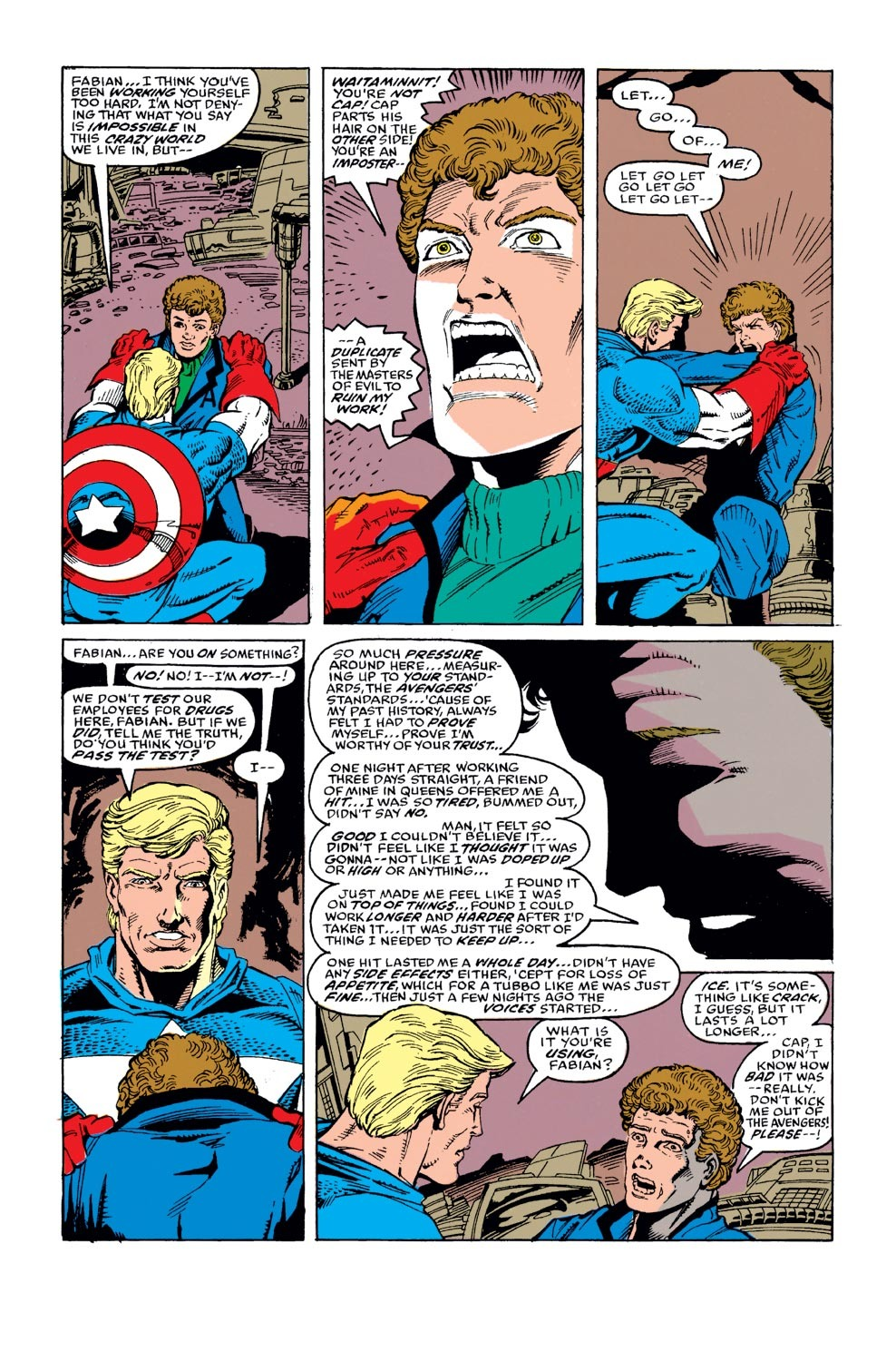 Captain America (1968) Issue #372 #305 - English 9