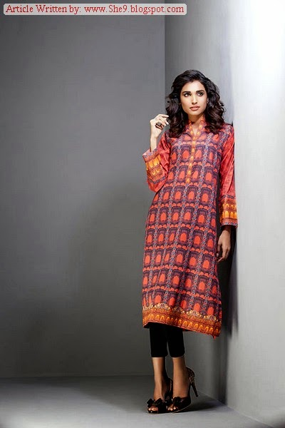 Gul Ahmed Digital Print Ready to Wear Fall-14