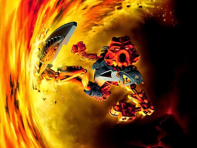 My Interest: Lego Bionicle The Bohrok Swarms