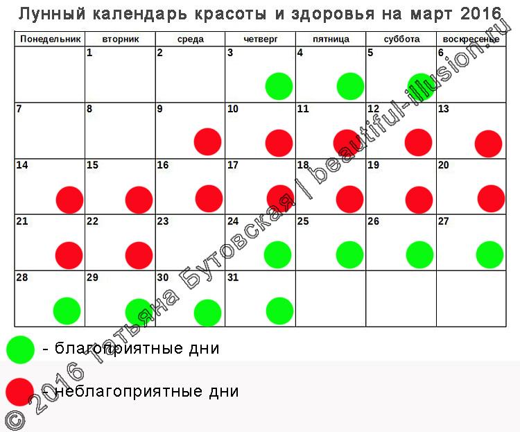 Лунный календарь зачатий на 2017-2018