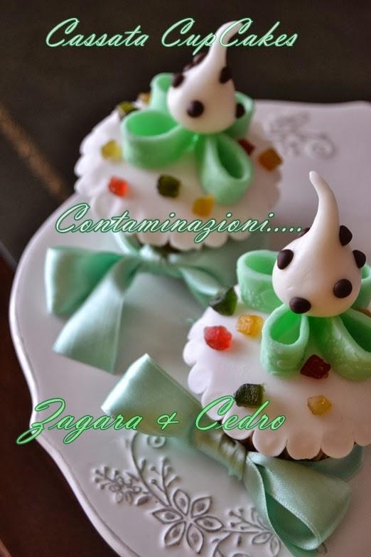 cassata cup cakes......per contaminazioni