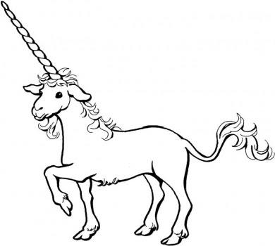 Imagenes para colorear: Unicornio para colorear que mas bien parece ...