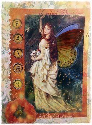 Fairy Card Paper Arts