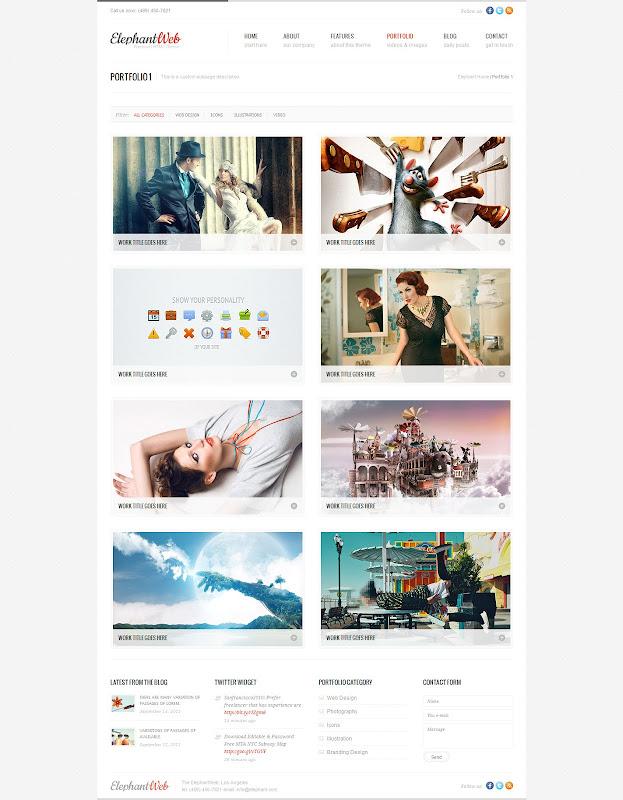 Elephant-Premium-Web-Template