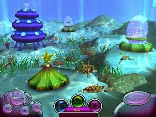 Under water games