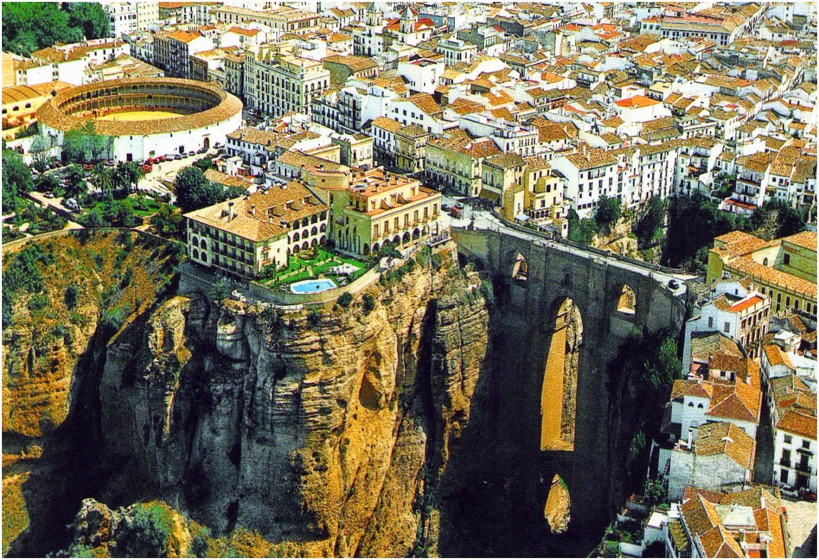 Ronda Spain  city photo : FOTO AÉREA DE RONDA Foto www.mundologia.es