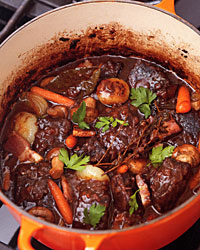 Making a stew at the height of Spring season is unusual for me but ...