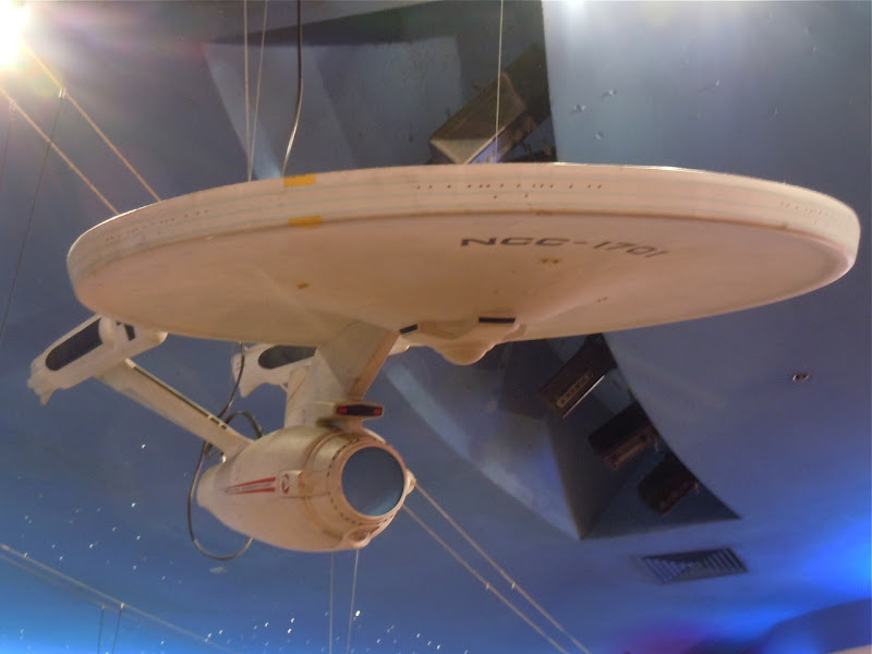 Star Trek USS Enterprise film model