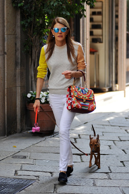 Amarelo Bordo+Fashion+bolsa+moda-Anna-Dello-Russo-Dolce-and-Gabbana-bag-Raffia