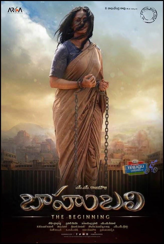 Anushka Baahubali Poster