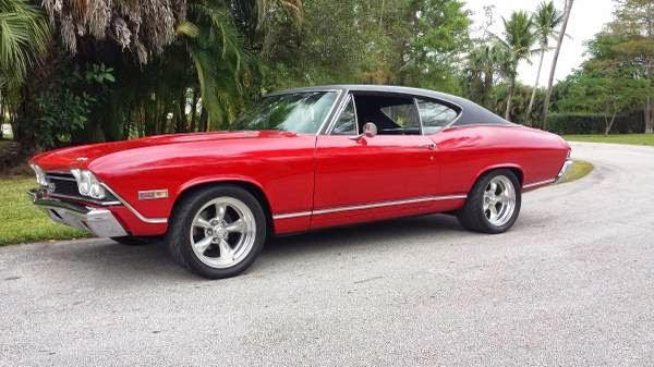 1968 chevelle ss full restoration buy american muscle car for American restoration cars for sale