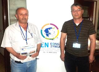 Οι Γενναίοι Ιμάμ Αχμέτ (αριστερά) και Μουσταφά Σερήφ (δεξιά) (15.5.2015)