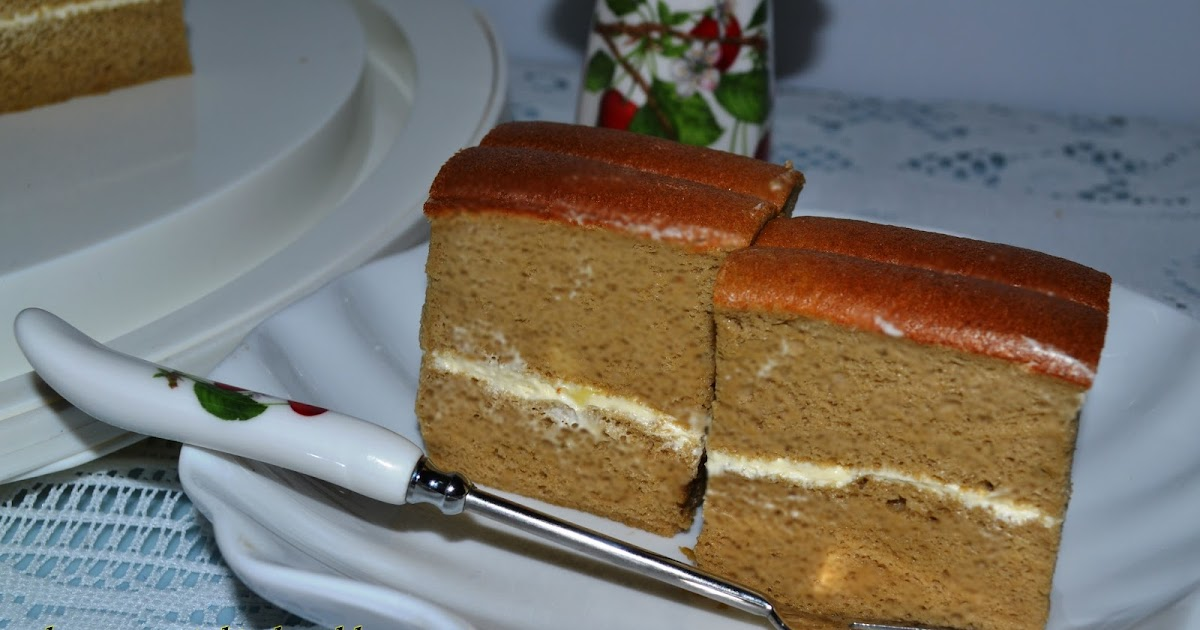 Coffee Ogura Cake Recipe