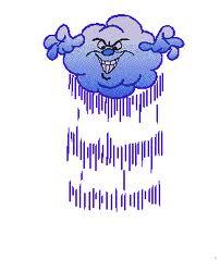 bara regn hos mig