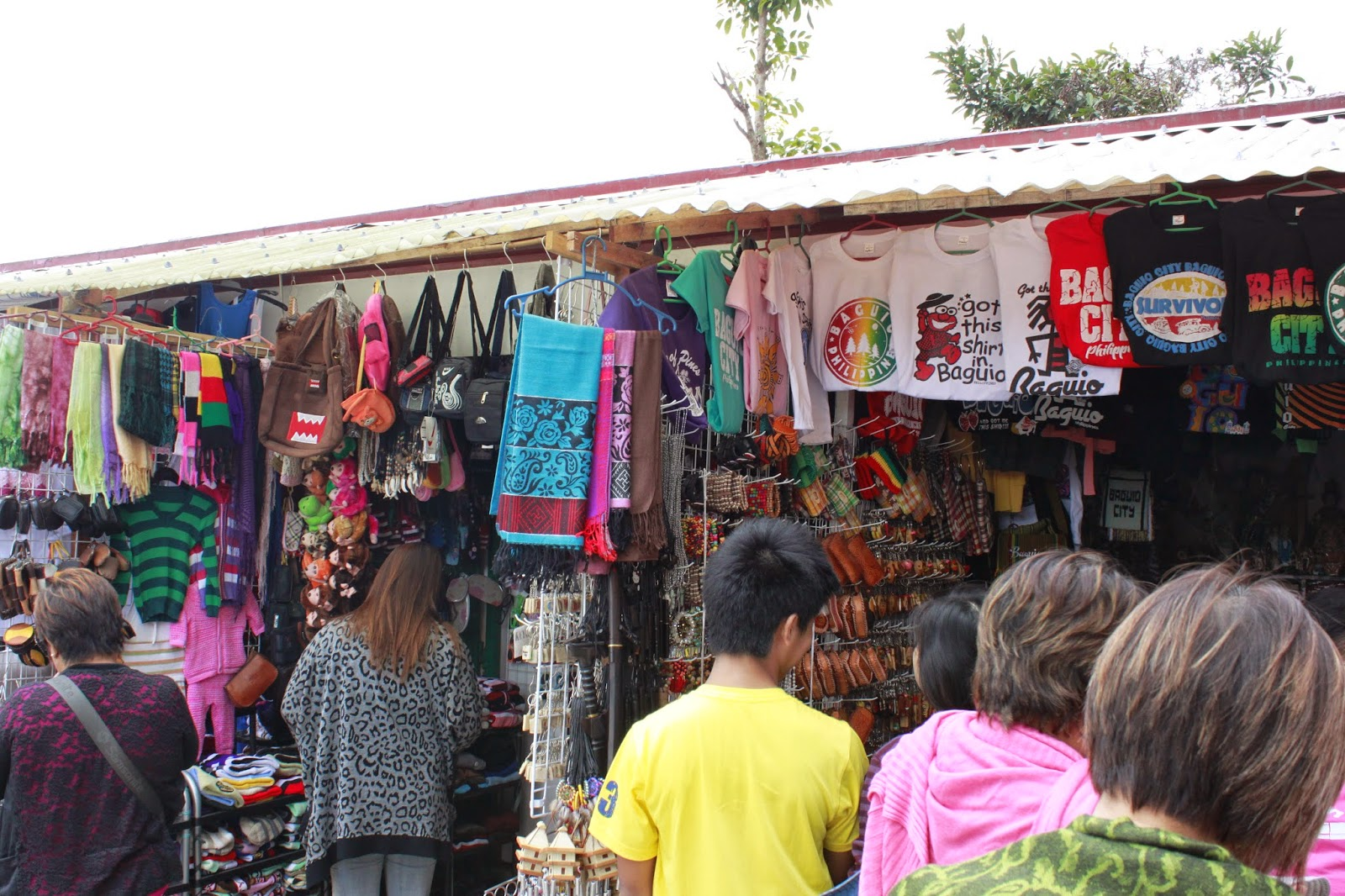 Souvenir Shops in Our Lady of Lourdes Grotto