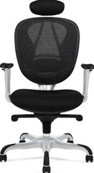 Modern Mesh Back Office Chair with Headrest