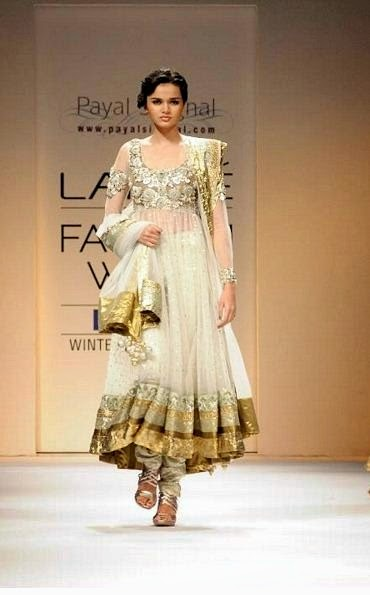 Bibi Jan 2013 Dresses Design Fashion PAYAL SINGHAL Anarkali Dresses
